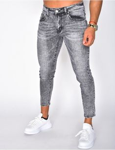 Jeans homme pas cher, jeans Redskins, jean Sixth June - Jeans Industry Cargo Pants Men, Jeans Pants, Denim Jeans, Stylish Men, Men Casual, Men Street Look, Grey Jeans, Streetwear, Casual Outfits