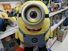 """I own a Purple Minion and the """"Fluffy Unicorn,"""" but not the Yellow Minion!"""