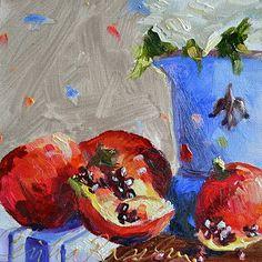 Pomegranate Study II @CeciliaRosslee