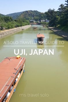 Have you been to Uji, a town south of Kyoto, Japan? If you love matcha, you will love Uji! Check out all the must-see attractions and itinerary for the day! #solotravelguide #uji #japan #mstravelsolo