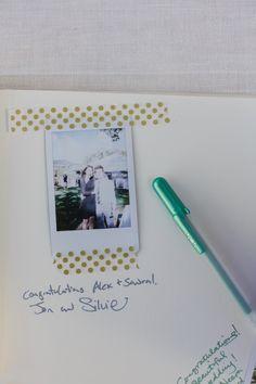 Guest Book Idea | Jasmine Star | #GuestBookIdeas #Weddings