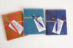 SLIP ON COVER NOTE BOOK R230 sashamtu@gmail.com   #HandBags #Sasha #Shweshwe #chic #SA #JHB #HandbagsJHB #Fabrics #Bags #Diaries #Notebooks