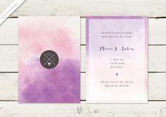 Einladungskarten - Hochzeitskarten - Hochzeitseinladung – wedding invitation – save the date