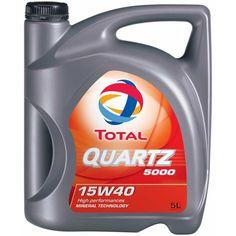TOTAL QUARTZ 5000 15W40 5L - Моторни масла Boost