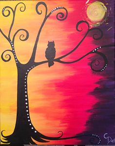 Autumn/fall owl and forest painting. Connie- King Of The Forest Cool Artwork, Autumn Painting, Drawings, Amazing Art, Painting, Art, Canvas Art, Canvas Art Painting, Forest Painting