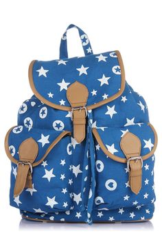Blue Backpack Trendy and chic, this blue coloured backpack from the house of Miss Bennett will catch your fancy at once. Made of canvas, this backpack for women is high on style and quality as well. This backpack is a perfect pick to keep your everyday essentials handy while you are on the move. http://m.jabong.com/mb-Blue-Backpack-771651.html