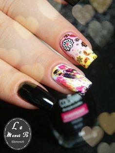 #nails #nail #fashion #style #paintbrush #cute #beauty #beautiful #brasil #pretty #girl #girls #stylish #sparkles #styles #gliter #nailart #art #opi #colorido #essie #unhas #preto #branco #rosa #love #shiny #polish #nailpolish #flores