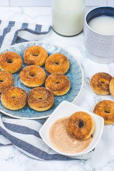 cukormentes és laktózmentes fahéjas minifánkok - sugarfree dots Minden, Winter Food, Doughnut, Sweets, Cakes, Recipes, Gummi Candy, Cake Makers, Candy