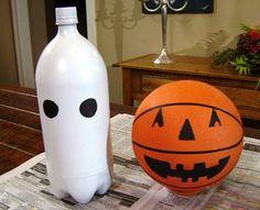 Atendendo a pedidos, diferentes ideias para tornar a decoração da festa do dia das bruxas mais divertida!     Fantasmas Para iluminar:   po...
