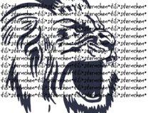 Plottervorlage ❤ brüllender Löwe ❤ Plotterdatei