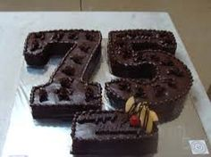 Image result for cakes for 75th birthday