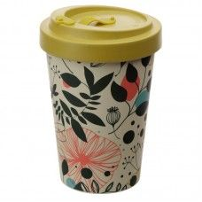 Wisewood Botanical Screw Top Travel Mug Reusable Cup, Travel Cup, Al Fresco Dining, Cold Meals, Order Up, Chopsticks, Home Gifts, Safe Food, Coffee Cups