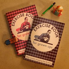 Exercise Books for Grown Ups by Double Merrick