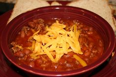 """""""Chunk Free"""" Chili   On What's for Dinner?"""