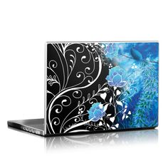 DecalGirl Universal Laptop skins feature vibrant full-color artwork that helps protect the Universal Laptop from minor scratches and abuse without adding any bulk or interfering with the device's operation.   This skin features the artwork Peacock Sky by Juleez - just one of hundreds of designs by dozens of talented artists from around the world.