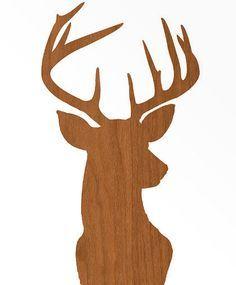 Reindeer Head Clip Art | Reindeer head template