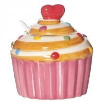 Cupcake Kitchen Decor, Cozinha Shabby Chic, Love Cupcakes, Diy Clay, Cookie Jars, Sugar Bowl, Picnic, Sweet, Desserts