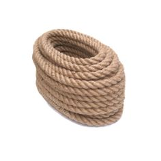 Jute rope can be used around the house or garden as a general purpose rope. Can be used for gardening, decking, climbing, swings, hand rails, decorative rope work, supporting plans, and cat scratching posts  The natural-coloured jute is ideal for DIY rustic-looking craft projects, handmade plant hangers, rugs, and stairs.  Great for different ornament ideas, for rustic style weddings, perfect for decorating candy jars, table napkins, gift-wrapping, toys, etc...