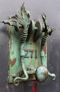 Beautiful Art Nouveau Door Knocker. Scott Tice