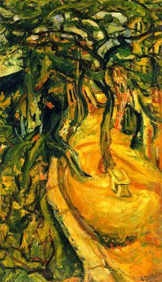 Landscape with Figures, 1922 / Chaim Soutine