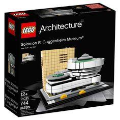 LEGO's Latest Landmark: Frank Lloyd Wright's Guggenheim Museum in New York