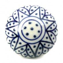 bouton de meuble mandala motif floral en porcelaine 3 80 boutons bouton de. Black Bedroom Furniture Sets. Home Design Ideas