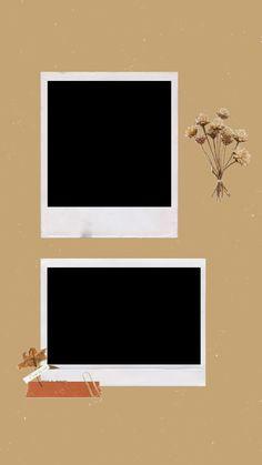 Polaroid Picture Frame, Polaroid Pictures, Picture Frames, Polaroids, Picture Templates, Photo Collage Template, Creative Instagram Stories, Instagram Story Ideas, Polaroid Template