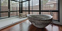 marblebathtub - Yahoo Image Search Results Marble Bathtub, Jacuzzi Bathtub, Bathtubs, Stone Bathtub, Modern Bathtub, Modern Bathroom, Japanese Bathroom, Simple Bathroom, Big Tub