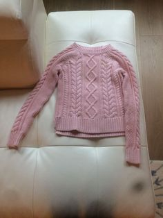 c7aaa0e2278 Gap Kids Girls Light Pink Cable Knit Long Sleeve Sweater Size Medium (Age  8)  fashion  clothing  shoes  accessories  kidsclothingshoesaccs ...