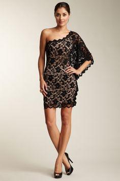 Blowout  Kimikal One-Shoulder Lace Dress