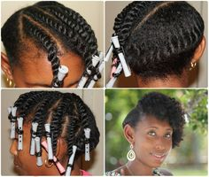 Natural Hairstyle via jocelinjthomas.com    Alyssa you would look adorable with your hair like this!!!!