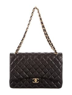 cea4b051e82b Chanel Classic Maxi Double Flap Bag Channel Bags, Chanel Purse, White  Purses, Luxury