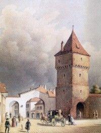 poarta-turnului-01 Saga, Notre Dame, Building, Painting, Travel, Google, Viajes, Buildings, Painting Art