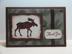 Pines Thank You by NellieKC - Cards and Paper Crafts at Splitcoaststampers