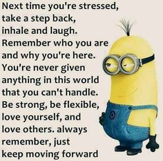 Remember Who You Are, Always Remember, Take That, Let It Be, Yellow Guy, Minions Love, Take A Step Back, Ring True, Keep Moving Forward