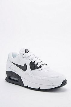 new concept 15da8 0ee11 Nike Air Max 90 Trainers in White and Black