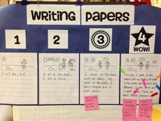 On Raising Writers:  When Students Study Anchor Papers  {From Creating Readers and Writers Blog}
