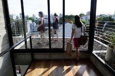 Imágenes del Edificio 3 de Febrero, el Pasaje Olleros, la Casa Scout y el Edificio Los Eucaliptus, en Open House 48hBuenos Aires (Fernando de la Orden).