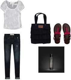 """""""Abercrombie Outfit"""" by catherinehartley on Polyvore"""