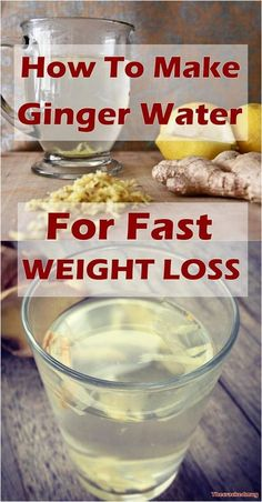 Ginger Water: The Healthiest Drink To Burn All The Fat From The Waist, Back And Thighs Ingwerwasser: Weight Loss Meals, Weight Loss Shakes, Fast Weight Loss, How To Lose Weight Fast, Losing Weight, Weight Gain, Fat Loss Drinks, Diet Drinks, Healthy Drinks