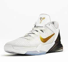 official photos 53b4f c5537 Nike Zoom Kobe VII Elite Collection. White Basketball ShoesNike  BasketballNike ZoomNba SeasonPumped Up KicksBack To School OutfitsKobeAir  JordansNike ...