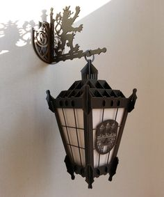 Prague Decor Decor Lamp Prague Street Lamp Prague por ColibriGift