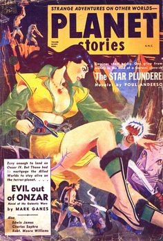 Vintage Cool Illustrated - itcamefromouterspace: Evil out of Anzor