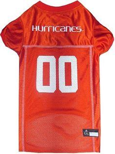 NCAA Miami Hurricanes Dog Jersey