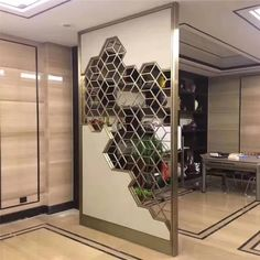 Modern Design Laser Cut Partition Screen Restaurant Wall Panel Screen Marble Screen - China Metal Screen and Room Divider price | Made-in-China.com Wooden Partition Design, Glass Partition Designs, Wooden Partitions, Living Room Partition Design, Wall Panel Design, Office Partitions, Mirror Panel Wall, Metal Wall Panel, Wooden Wall Panels