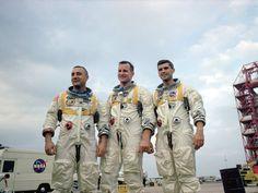Apollo 1 Crew Outdoors