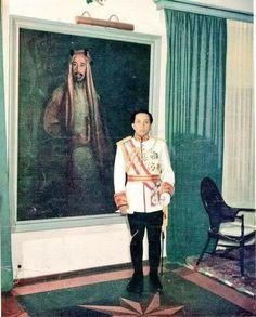 صورة لجلالة الملك فيصل الثاني رحمه الله...