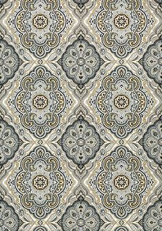Sterling - Charcoal and Linen wallpaper, from the Serenade collection by Anna French