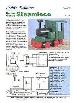 Trenes  - locomotora 01
