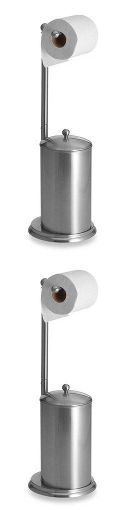 Toilet Paper Storage And Covers 177124: Toilet Paper Holder Stand Bathroom Storage  Canister Free Standing